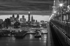 Ben-Franklin-bridge-sunset-BW-nov-2015-jason-gambone--(1-of-1)