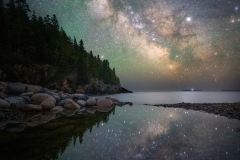 Milky Way over Acadia National Park, Maine 6-6-19 117