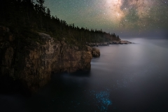 Milky Way over Acadia National Park, Maine 6-6-19 137