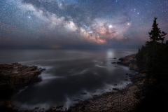 Milky Way over Acadia National Park, Maine 6-3-19 6